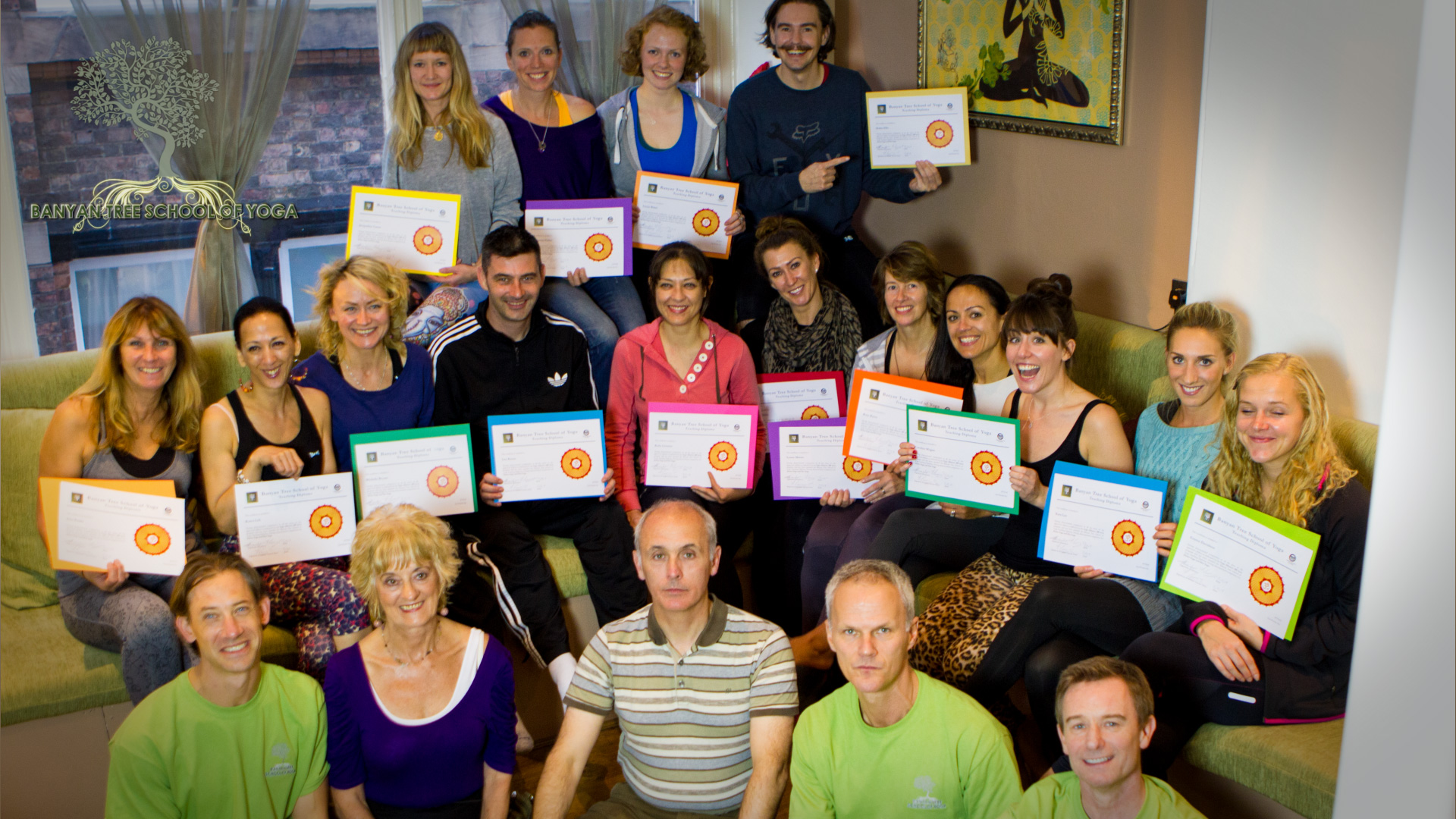 Teacher Training Photo With Certificates
